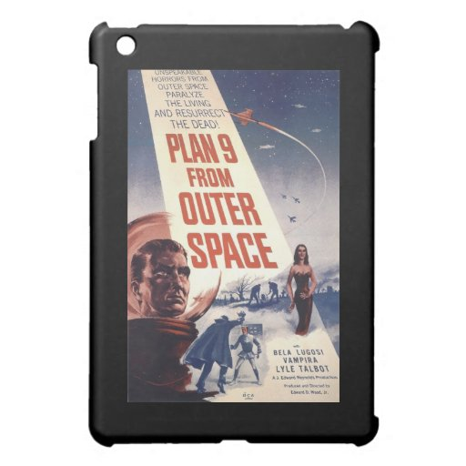 Plan 9 From Outer Space  iPad Mini Covers