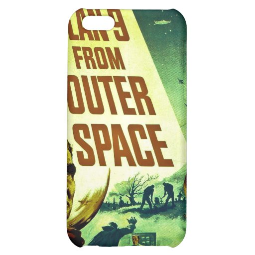 Plan 9 From Outer Space Case For iPhone 5C