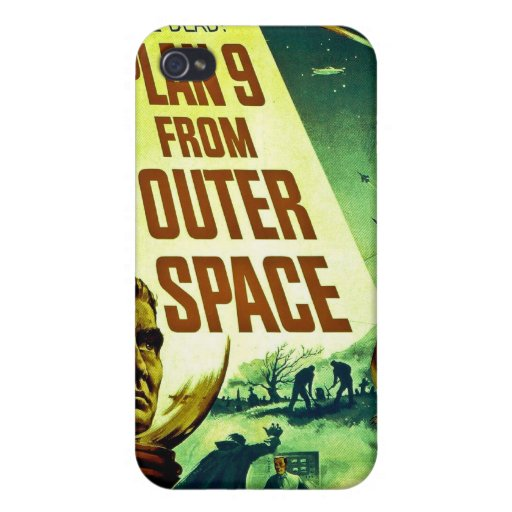 Plan 9 From Outer Space iPhone 4/4S Cover