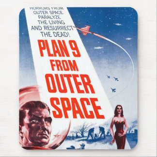 Plan 9 From Outer Space Mouse Pad
