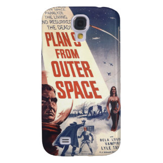 Plan 9 From Outer Space Movie Poster Galaxy S4 Cover