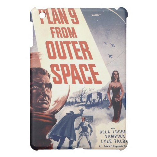 Plan 9 From Outer Space Movie Poster Case For The iPad Mini