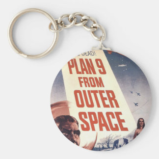 Plan 9 From Outer Space Movie Poster Key Chains