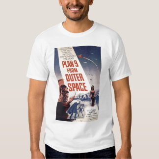 Plan 9 From Outer Space Movie Poster Shirt