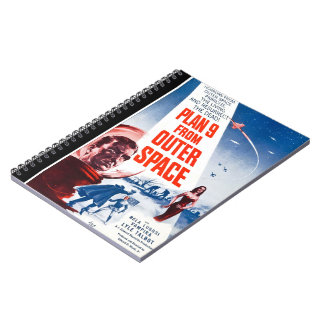 Plan 9 From Outer Space Note Book