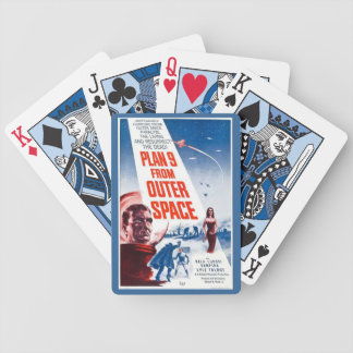 Plan 9 From Outer Space Poster Playing Cards