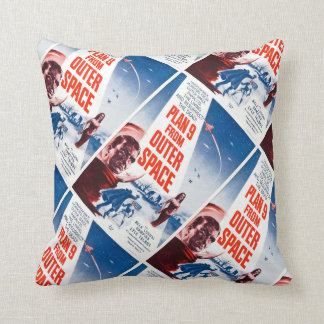 Plan 9 From Outer Space Throw Cushions