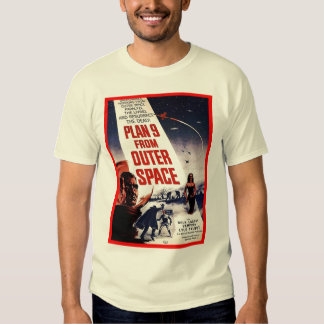 Plan 9 From Outer Space Tshirts
