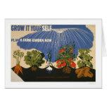 Plan A Farm Garden 1941 WPA Cards