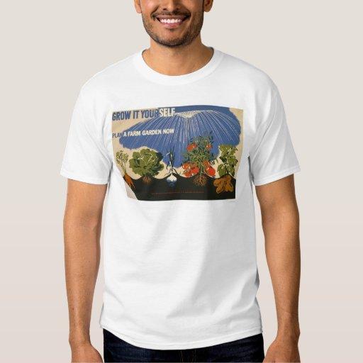 Plan A Farm Garden 1941 WPA Shirt