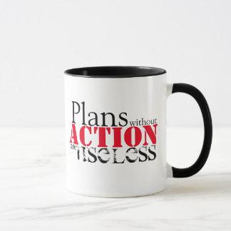 Plan Action Mug