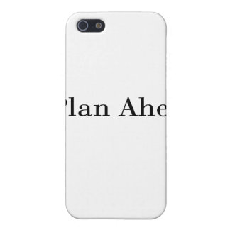 Plan Ahead iPhone 5 Cases