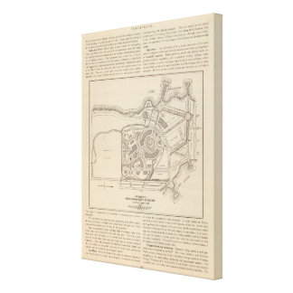 Plan, Alaska Yukon Pacific Exposition, Seattle Canvas Prints