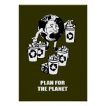 PLAN FOR THE PLANET POSTER