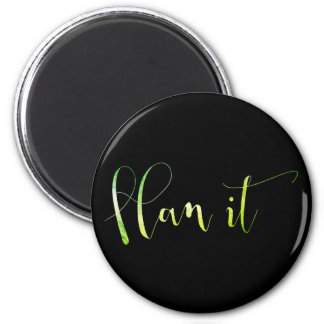 Plan It Greenly Mint Home Office Management Magnet