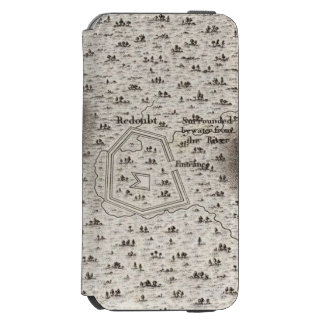 Plan of an Old Fort in the state of Kentucky Incipio Watson™ iPhone 6 Wallet Case
