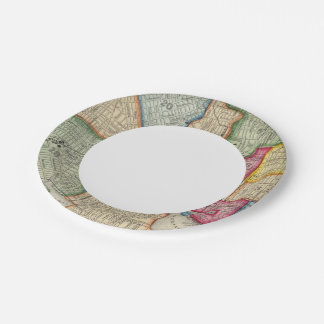 Plan Of Baltimore 7 Inch Paper Plate