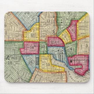 Plan Of Baltimore Mouse Mat