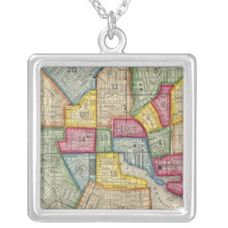Plan Of Baltimore Silver Plated Necklace