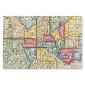 Plan Of Baltimore Tissue Paper