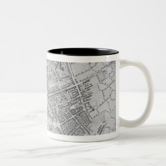 Plan of Birmingham, 1731, published 1789 (engravin Two-Tone Coffee Mug