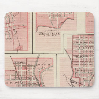Plan of Cambridge City, Wayne Co with Newport Mouse Pad