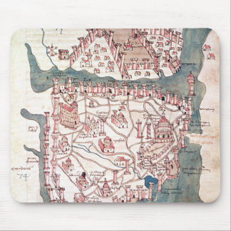 Plan of Constantinople Mouse Mat