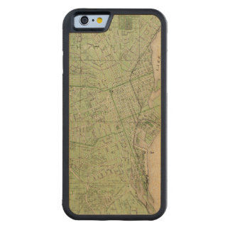 Plan of Dubuque, Dubuque County, State of Iowa Maple iPhone 6 Bumper Case