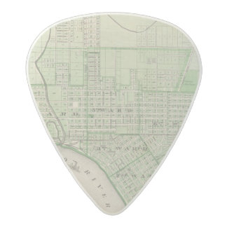 Plan of Evansville, Vanderburgh Co Acetal Guitar Pick