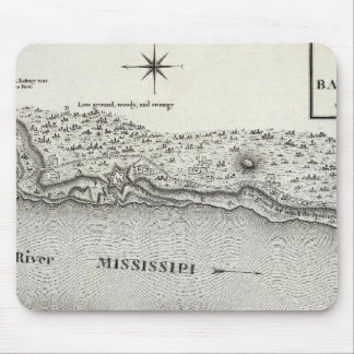 Plan Of Fort Baton Rouge Mouse Pad