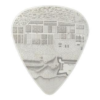 Plan of Fort Erie Acetal Guitar Pick
