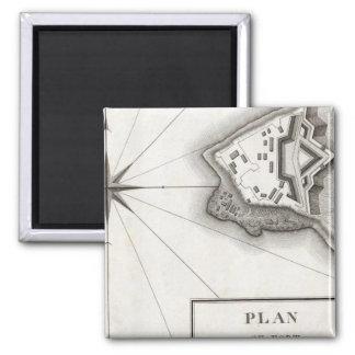 Plan of Fort Niagara Magnet