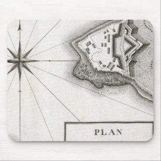 Plan of Fort Niagara Mouse Pad