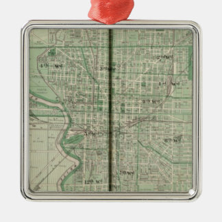 Plan of Indianapolis Christmas Ornament