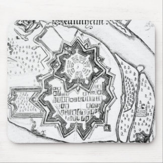 Plan of Mannheim, Germany 1690 Mouse Mat
