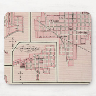 Plan of Mount Vernon, Posey County with Patoka Mouse Mat