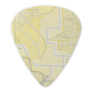 Plan of North Vernon, Jennings Co with Vernon Acetal Guitar Pick
