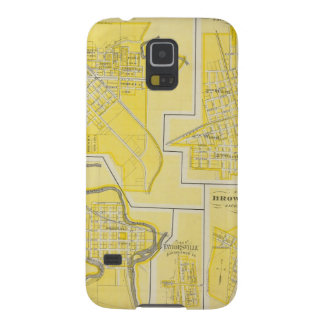 Plan of North Vernon, Jennings Co with Vernon Galaxy S5 Cover