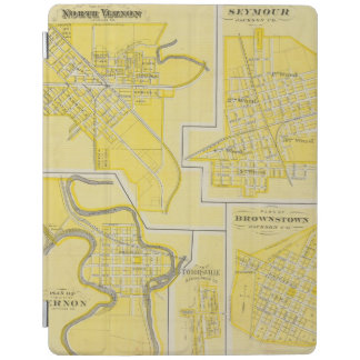 Plan of North Vernon, Jennings Co with Vernon iPad Cover