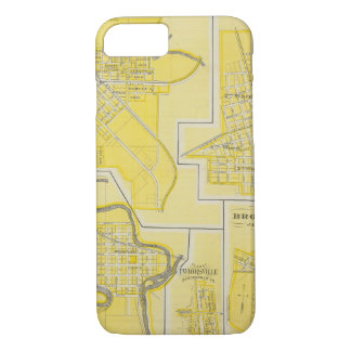 Plan of North Vernon, Jennings Co with Vernon iPhone 8/7 Case