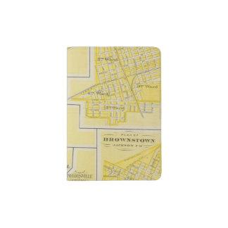 Plan of North Vernon, Jennings Co with Vernon Passport Holder
