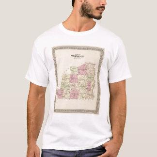 Plan of Orange County in Vermont T-Shirt