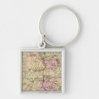 Plan of Orleans Company in Vermont Key Ring