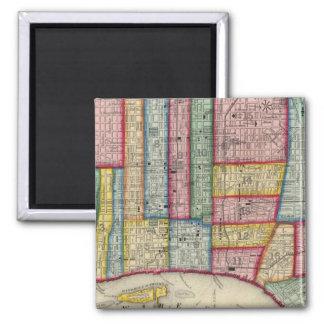 Plan Of Philadelphia Magnet