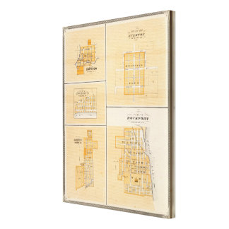 Plan of Rockport, Spencer Co with Everton Canvas Prints