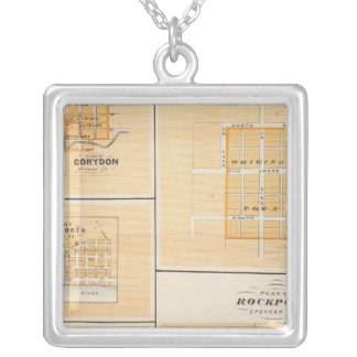 Plan of Rockport, Spencer Co with Everton Square Pendant Necklace