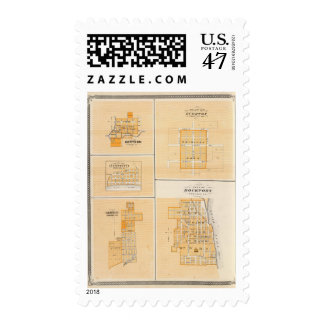Plan of Rockport, Spencer Co with Everton Stamp