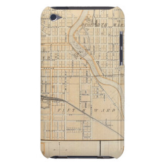 Plan of South Bend with Mishawaka iPod Touch Cover