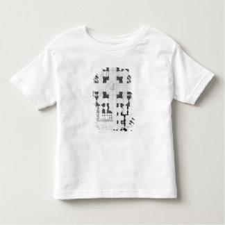 Plan of St. Peter's Basilica Toddler T-Shirt
