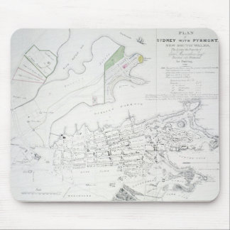 Plan of Sydney with Pyrmont, New South Wales, the Mouse Mat